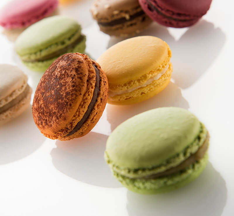 Macarons of the day