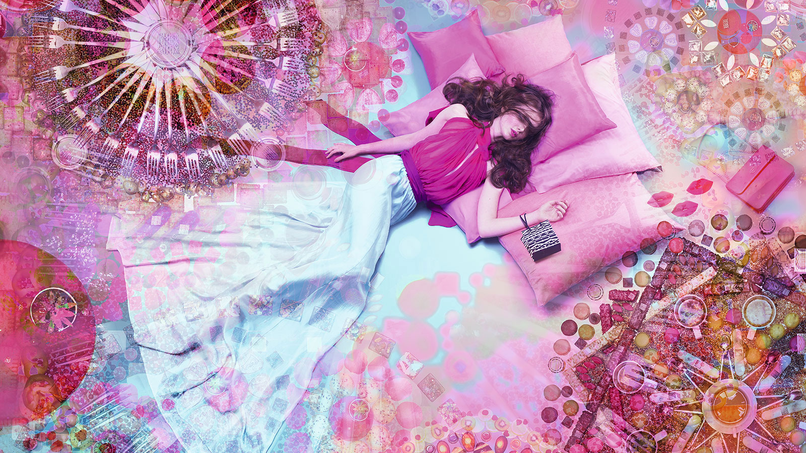 Just close your eyes.Feel Fauchon with all your senses.